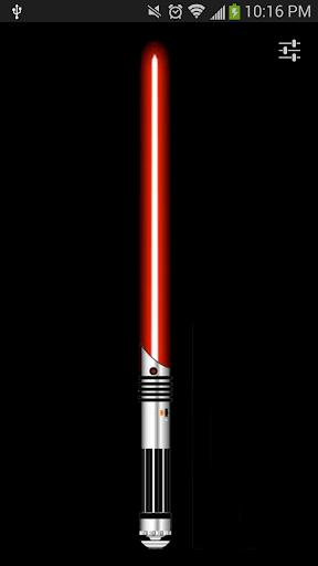 Red Lightsaber Flashlight