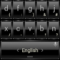 Keyboard Theme Frame Black