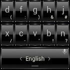 Keyboard Theme Frame Black icon