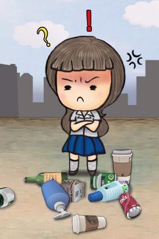 Recycling Toss- screenshot