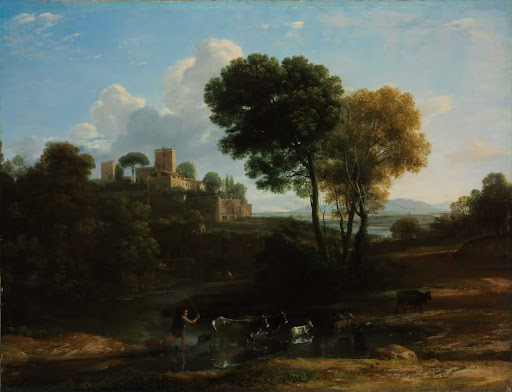Villa in the Roman Campagna