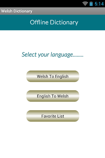 Welsh English Dictionary
