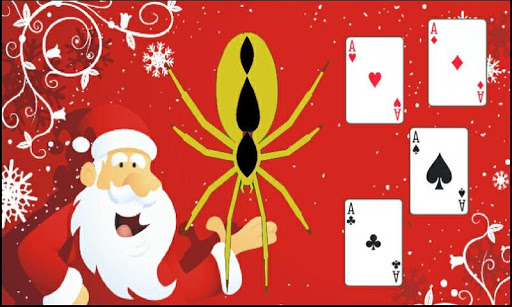 Christmas Spider Solitaire