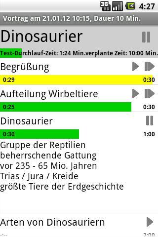 PresentationTimerPro- screenshot
