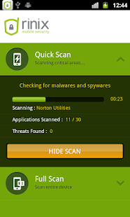 Antivirus Security GOLD 2014 - screenshot thumbnail