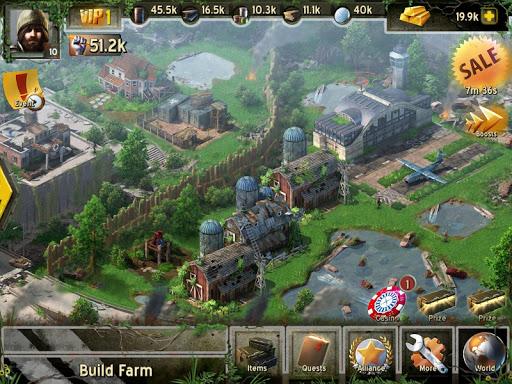 Игра Empire Z для планшетов на Android