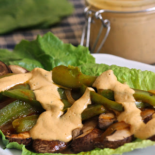 Vegan Southwest Portobello Wraps