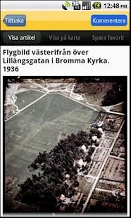 Historiska Stockholmsbilder- screenshot thumbnail