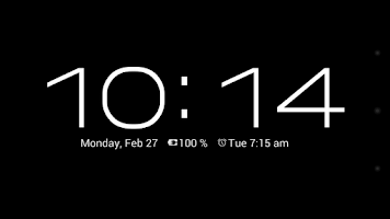 Screenshot of Dock Clock (Night Clock)
