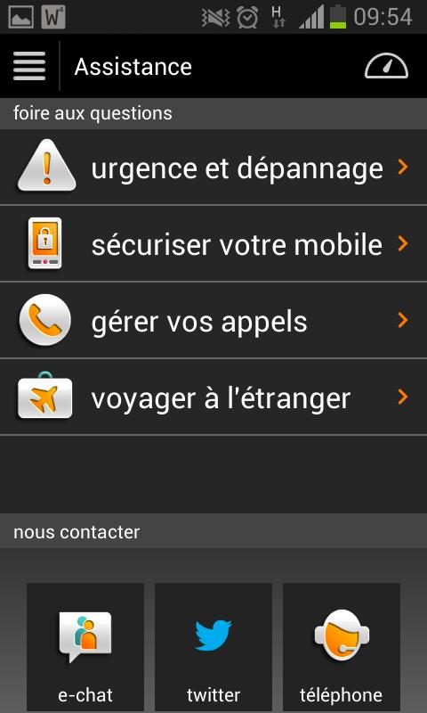 Orange Business Lounge - screenshot