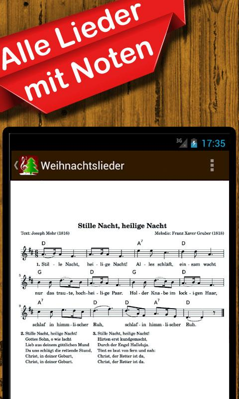 weihnachtslieder musik text android apps on google play. Black Bedroom Furniture Sets. Home Design Ideas