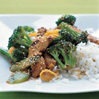 Chicken, Broccoli, and Lemon Stir-Fry.
