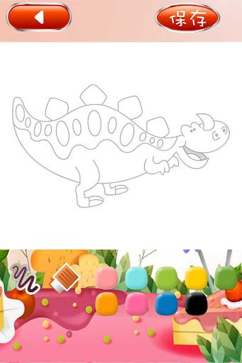 超級恐龍簡筆劃