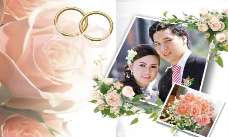 love wedding photo frames screenshot