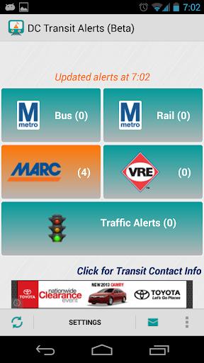 DC Transit - Metro MARC VRE