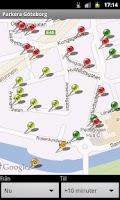 Screenshot of Parking Göteborg