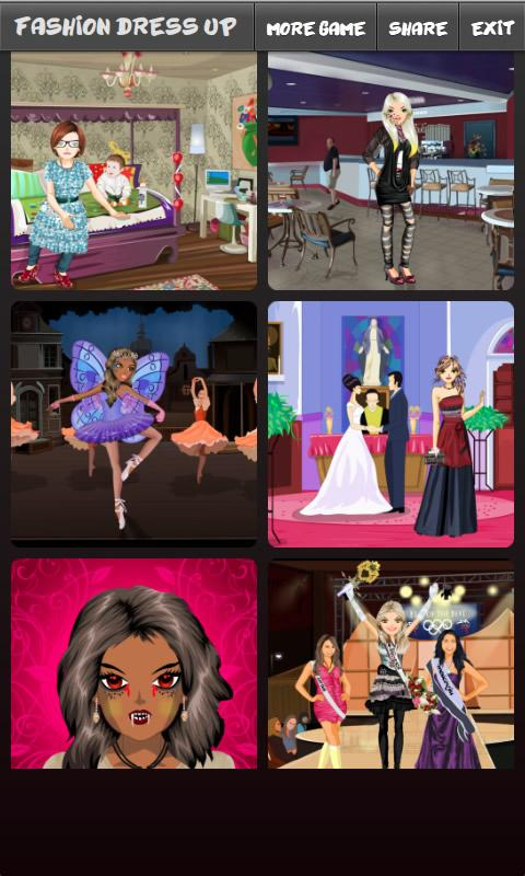 Fashion Dress Up - screenshot