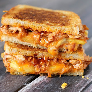BBQ Chicken & Pineapple Grilled Cheese.