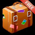 旅行の持ち物リスト Free icon