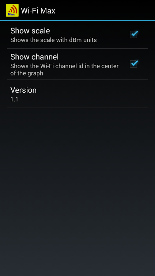 WiFi Scanner / Analyzer - screenshot