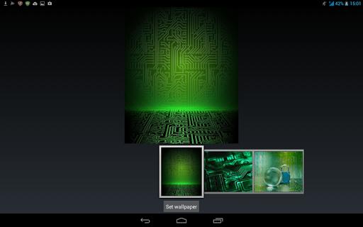 玩免費個人化APP|下載霓虹燈綠色電子主題 app不用錢|硬是要APP