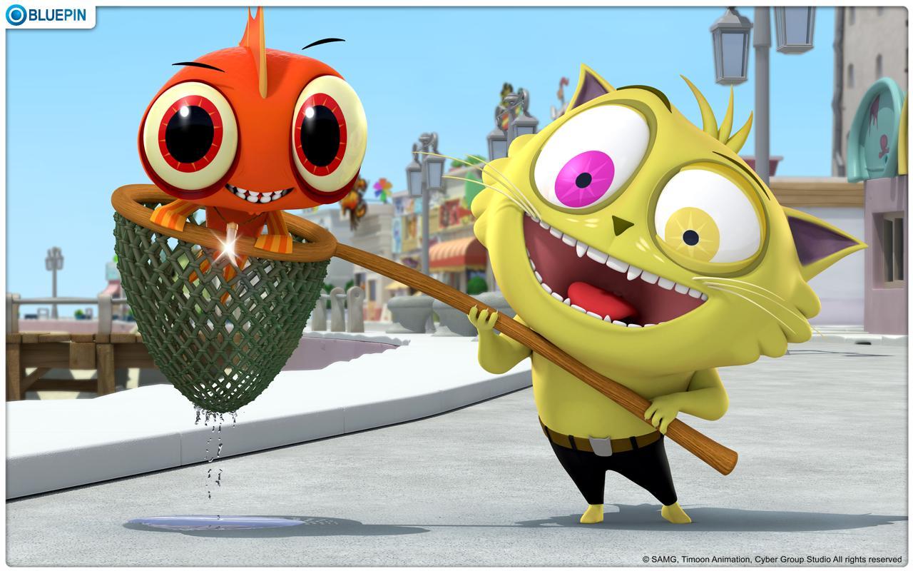 """""""톰과 제리""""를 뛰어넘는 숙명의 라이벌 """"피쉬와 칩스"""" - screenshot"""