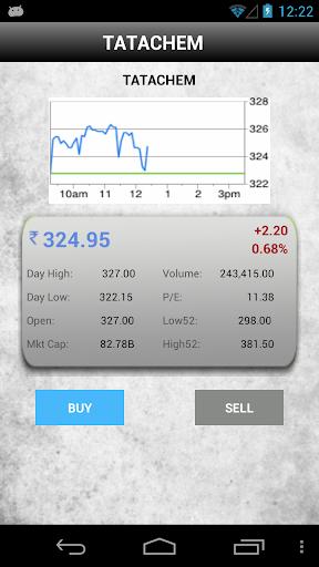 Indian Stock Simulator