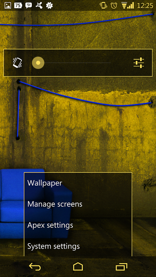 Arctic Yellow CM11 AOKP Theme - screenshot