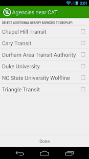 TransLoc Transit Visualization - screenshot thumbnail