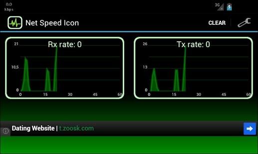 Net Speed Icon: miniatura de captura de pantalla
