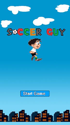 Soccer Guy - Kick it