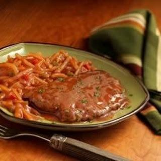 Saucy Steak and Potatoes.