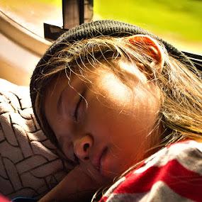 Tired by Zainol Che Omar - Babies & Children Children Candids