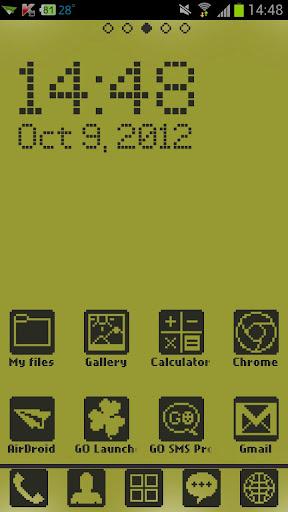 Retro Phone Theme