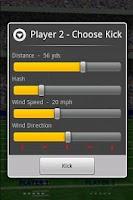 Screenshot of Football FieldGoal Frenzy