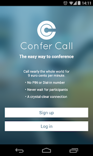 Confer Call- screenshot thumbnail