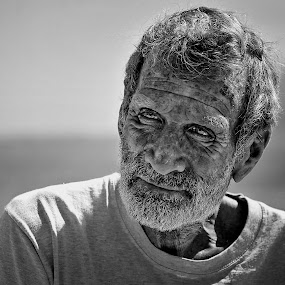An old sea dog by Pier Riccardo Vanni - People Portraits of Men (  )