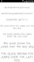 Screenshot of Fonts for FlipFont #16