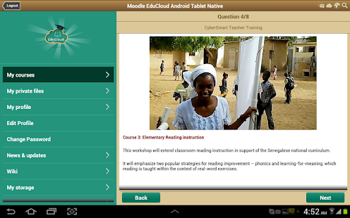 Academy EduCloud Android & iOS - screenshot thumbnail