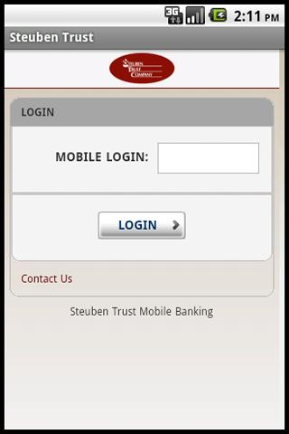 Steuben Trust Mobile Banking- screenshot
