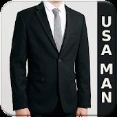 USA Man Style Photo Suit