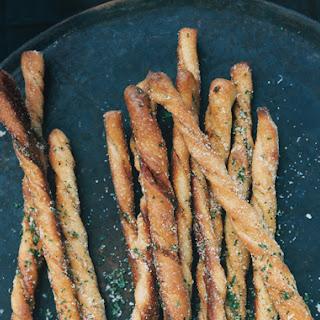 Garlic Herb Bread Twists