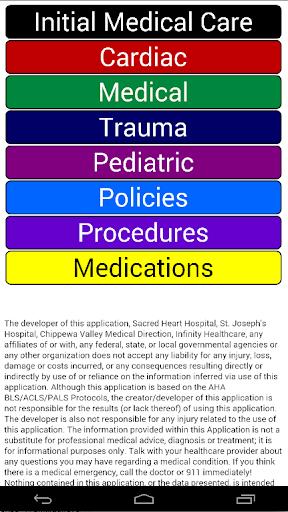 Chippewa Valley EMS Protocols