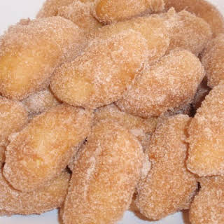 Apple Fritter Rings From Pancake Mix.
