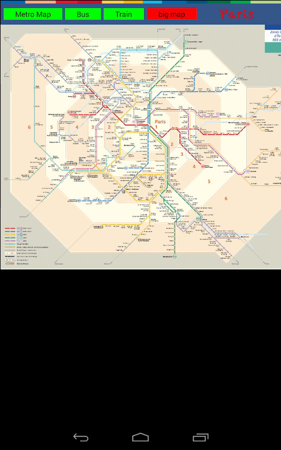Paris Metro Bus Train - screenshot