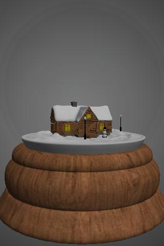 3D Snow Globe HD- screenshot