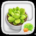 GO SMS GREEN PLANTS THEME icon