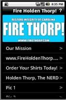 Screenshot of Fire Holden Thorp!