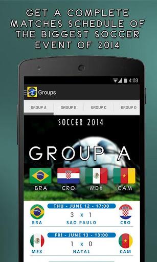 Soccer 2014 - brazil cup