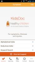 Screenshot of KidsDoc
